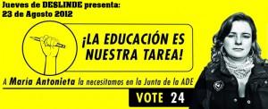 POR UNA EDUCACIÓN DEMOCRÁTICA Y CIENTÍFICA