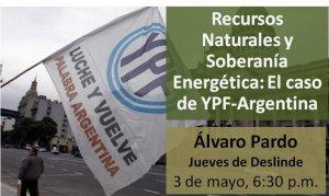 Recursos Naturales y Soberanía Energética: El caso de YPF, Argentina