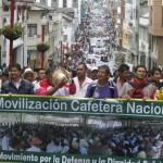 Miles de cafeteros se movilizarán por todo el país el 9 de octubre
