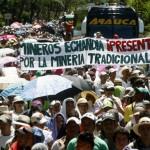 Cinco mil personas se unieron al plantón minero en Marmato