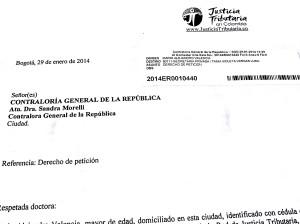 Justicia Tributaria instaura derecho de petición ante la no devolución del IVA.