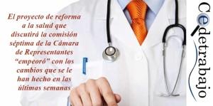 Hospitales arremeten contra cambios a reforma a la salud
