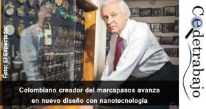 Colombiano creador del marcapasos avanza en nuevo diseño con nanotecnología