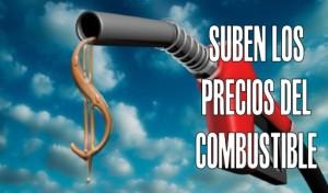 Los precios de combustible para octubre: gasolina, 21 pesos más cara