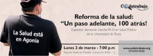 """Reforma de la salud: """"un paso adelante, 100 atrás"""""""