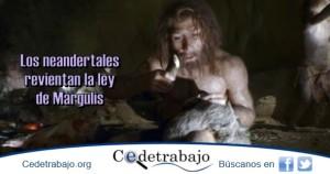 Los neandertales revientan la Ley de Margulis