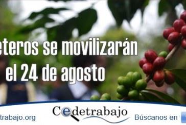Movilización nacional cafetera 24 de agosto