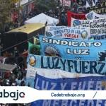 Los sindicatos protestan contra las políticas de Macri