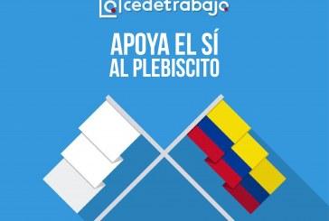 La coherencia de Cedetrabajo es apoyar el sí en el plebiscito y oponerse a Santos