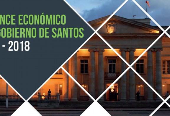 Balance económico del gobierno de Santos 2010 – 2018
