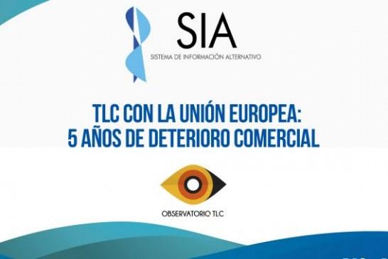 INFORME SIA # 47  TLC CON LA UNIÓN EUROPEA: 5 AÑOS DE DETERIORO COMERCIAL